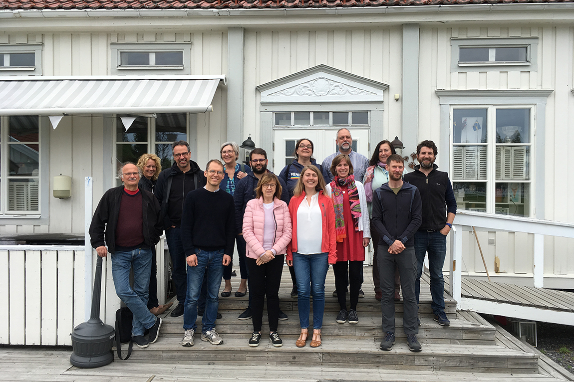 UPSC group leaders enjoyed their fruitful discussions during their retreat at Skeppsvik Herrgård
