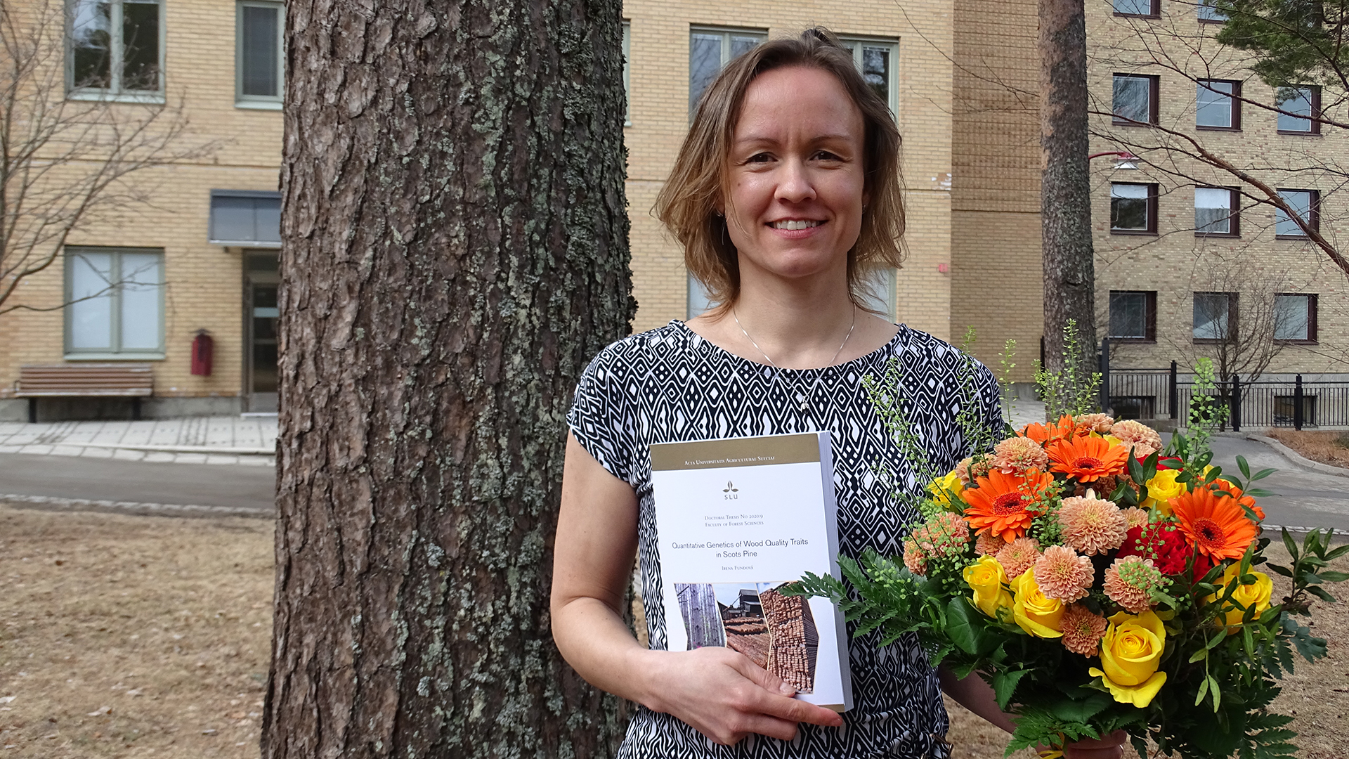 Irena Fundová successfully defended her PhD thesis at SLU