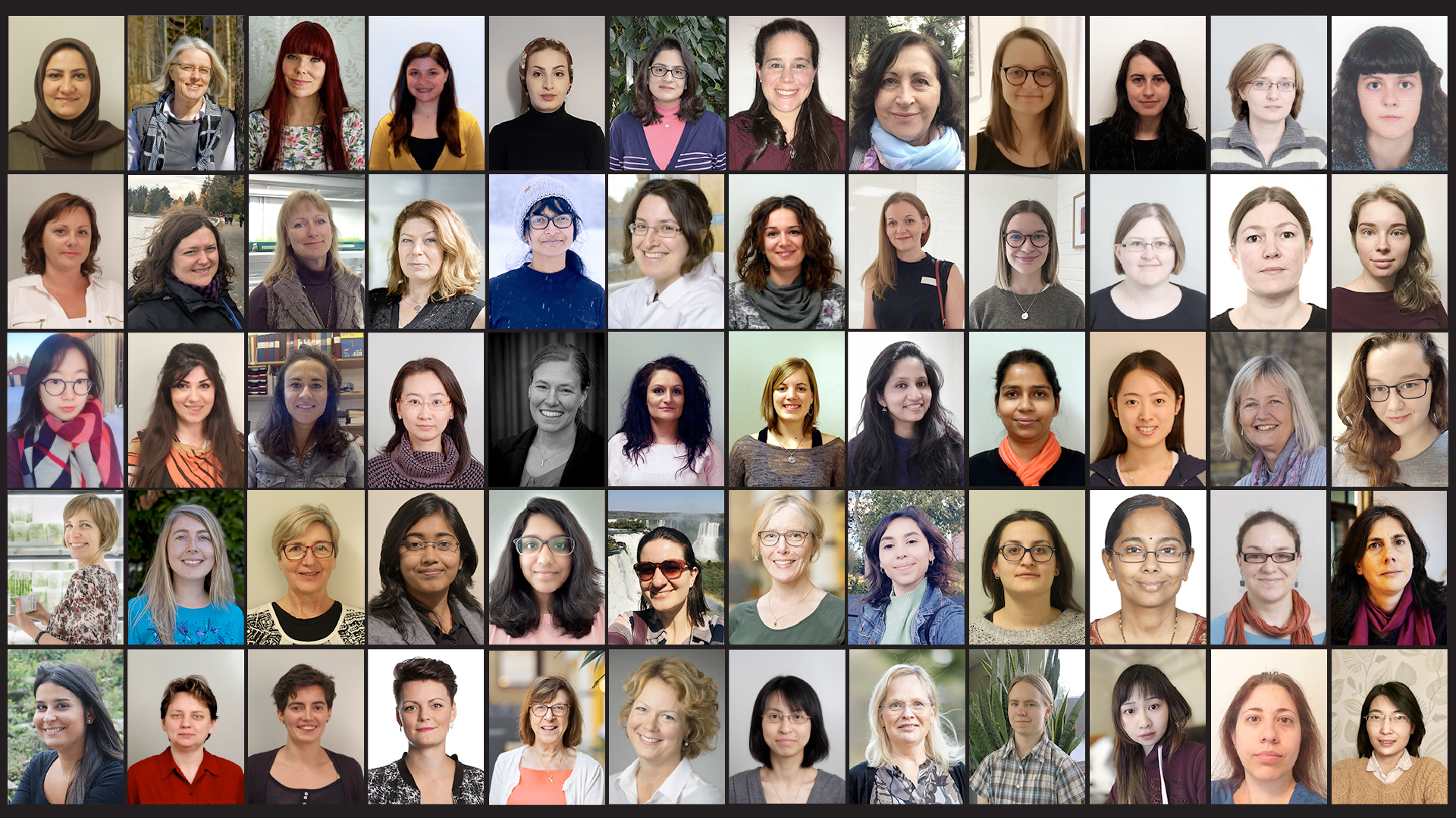 Several of the female scientists that are currently working at UPSC